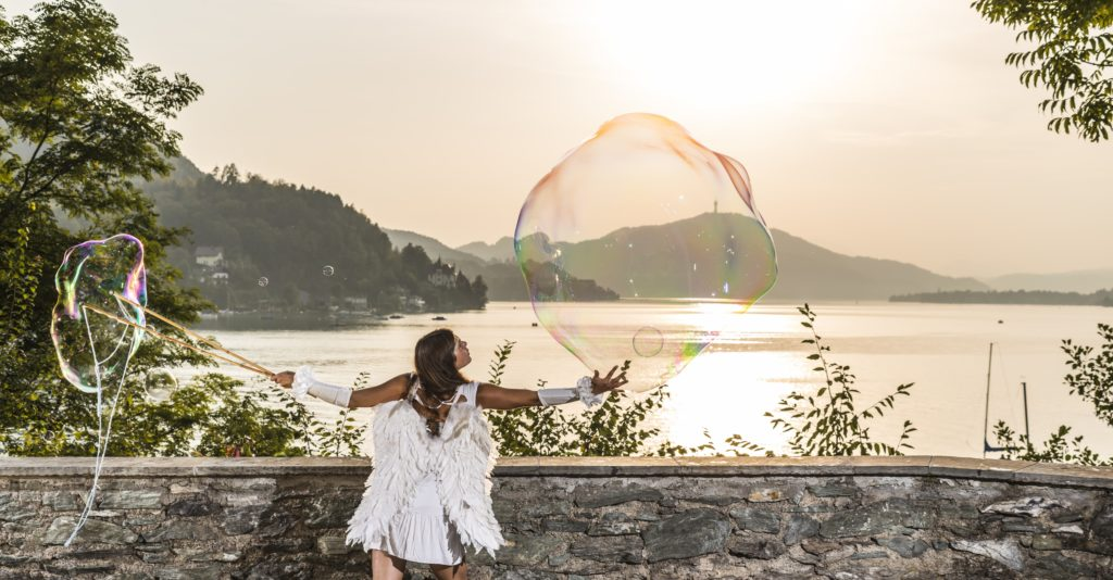 Riesenseifenblasen in Kärnten